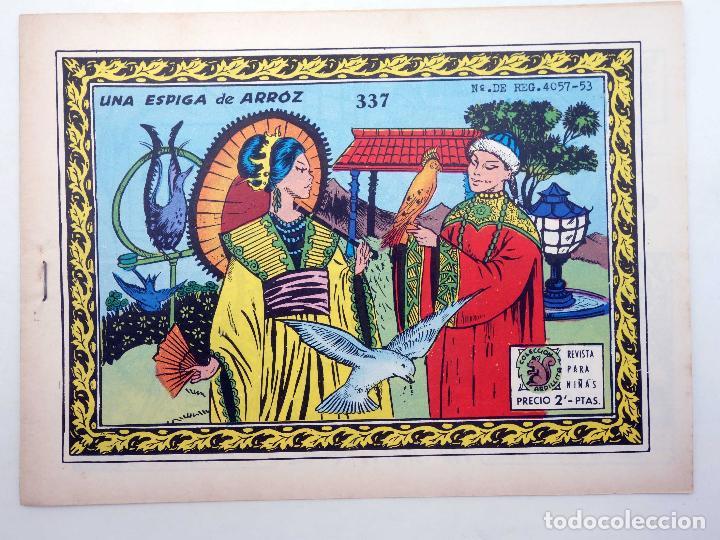 COLECCIÓN ARDILLITA REVISTA PARA NIÑAS 337. UNA ESPIGA DE ARROZ (NO ACREDITADO) RICART, 1959. OFRT (Tebeos y Comics - Ricart - Otros)