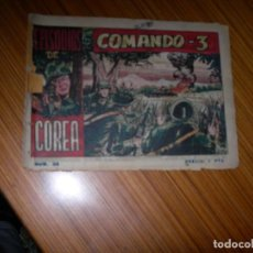 Tebeos: EPISODIOS DE COREA Nº 38 EDITA RICART . Lote 121793535