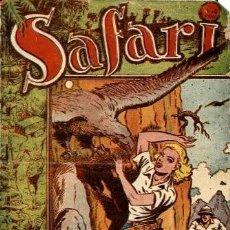 Tebeos: SAFARI--7: AL BORDE DE LA MUERTE (RICART, 1953) DE FERRANDO. Lote 121902231