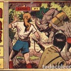 Tebeos: SAFARI II EPOCA NÚMERO 1 (RICART, 1963) DE FERRANDO. NUEVO SIN ABRIR.. Lote 121997663