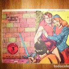 Tebeos: FLECHA Y ARTURO. Nº 3 : LA MUERTE DE UN TRAIDOR. - BARCELONA : RICART, [D.L. 1965]. Lote 122533691