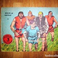 Tebeos: FLECHA Y ARTURO. Nº 4 : ASALTO AL CASTILLO. - BARCELONA : RICART, [D.L. 1965]. Lote 122533803