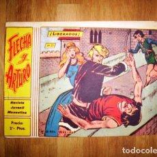 Tebeos: FLECHA Y ARTURO. Nº 17 : ¡LIBERADOS!. - BARCELONA : RICART, [D.L. 1965]. Lote 122534843