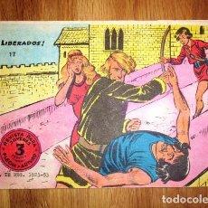 Tebeos: FLECHA Y ARTURO. Nº 17 : ¡LIBERADOS!. - BARCELONA : RICART, [D.L. 1965]. Lote 122534923