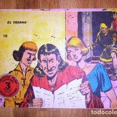 Tebeos: FLECHA Y ARTURO. Nº 18 : EL TESORO. - BARCELONA : RICART, [D.L. 1965]. Lote 122535163