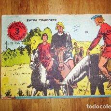 Tebeos: FLECHA Y ARTURO. Nº 19 : ENTRE TRAIDORES. - BARCELONA : RICART, [D.L. 1965]. Lote 122535211