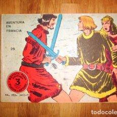 Tebeos: FLECHA Y ARTURO. Nº 25 : AVENTURA EN FRANCIA. - BARCELONA : RICART, [D.L. 1965]. Lote 122535251