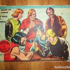 Tebeos: FLECHA Y ARTURO. Nº 3 : MANO DE HIERRO ; LA ROCA DEL DIABLO. - BARCELONA : RICART, [CA. 1967]. Lote 122535343