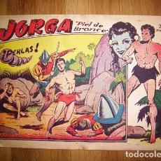 Tebeos: JORGA 'PIEL DE BRONCE'. Nº 5 : ¡PERLAS!. - BARCELONA : RICART, [D.L. 1963]. Lote 122535691