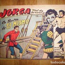 Tebeos: JORGA 'PIEL DE BRONCE'. Nº 15 : EN BUSCA DE SÍ MISMO. - BARCELONA : RICART, [D.L. 1963]. Lote 122536099