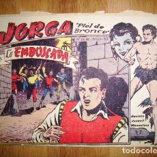Tebeos: JORGA 'PIEL DE BRONCE'. Nº 17 : LA EMBOSCADA. - BARCELONA : RICART, [D.L. 1963]. Lote 122536375
