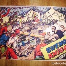 Tebeos: EL CORSARIO AUDAZ. Nº 8 : BUENOS AMIGOS. - BARCELONA : RICART, [CA. 1963]. Lote 122537095