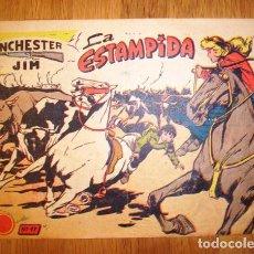 Tebeos: WINCHESTER JIM. Nº 17 : LA ESTAMPIDA. - BARCELONA : RICART, [D.L. 1963]. Lote 122541907