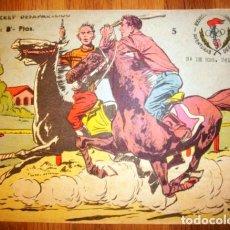 Tebeos: AVENTURAS DEPORTIVAS. Nº 5 : EL JOCKEY DESAPARECIDO. - BARCELONA : RICART, [CA. 1965]. Lote 122545383