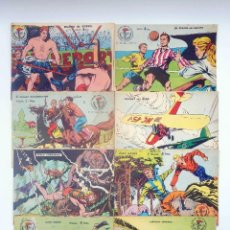 Tebeos: AVENTURAS DEPORTIVAS COMPLETA 8 NºS. 2 HISTORIAS/CUADERNO RICART, 1968. 4 PTAS, 16 PÁGS. OFRT. Lote 122836619