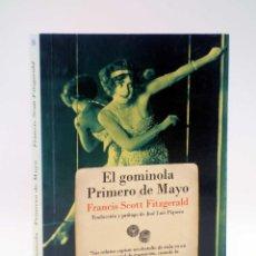 Tebeos: BREVES REENCUENTROS 16. EL GOMINOLA / PRIMERO DE MAYO (FRANCIS SCOTT FITZGERALD) NAVONA, 2010. Lote 123196024