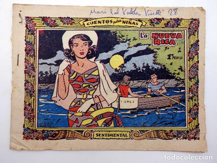 COLECCIÓN SENTIMENTAL RICART. CUENTOS PARA NIÑAS 192. LA NUEVA RICA RICART, 1959 (Tebeos y Comics - Ricart - Sentimental)