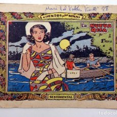 Tebeos: COLECCIÓN SENTIMENTAL RICART. CUENTOS PARA NIÑAS 192. LA NUEVA RICA (NO ACREDITADO) RICART, 1959. Lote 124878558