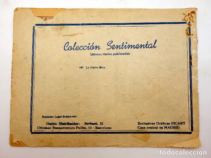 Tebeos: COLECCIÓN SENTIMENTAL RICART. CUENTOS PARA NIÑAS 192. LA NUEVA RICA Ricart, 1959 - Foto 3 - 124878558