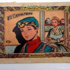 Tebeos: COLECCIÓN SENTIMENTAL RICART. CUENTOS PARA NIÑAS 157. EL REVOLTOSO RICART, 1959. Lote 124878562