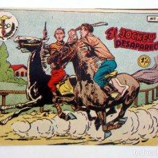 Tebeos: AVENTURAS DEPORTIVAS 8. EL JOCKEY DESAPARECIDO 1 PTA. RICART, 1957. ORIGINAL. Lote 126568651