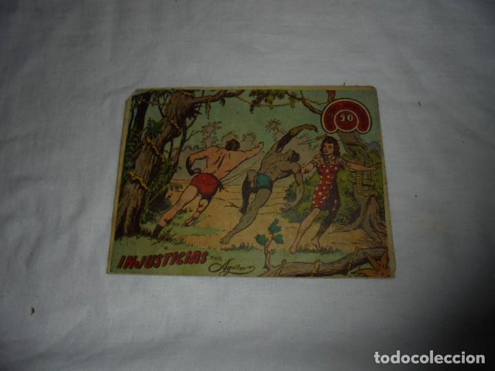 HOMBRES AVENTUREROS Nº 63.JORGA PIEL DE BRONCE EN INJUSTICIAS (Tebeos y Comics - Ricart - Jorga)