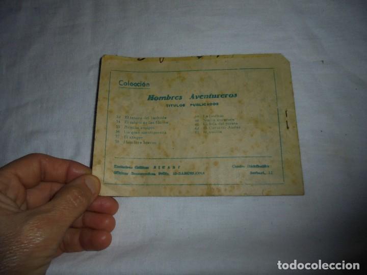 Tebeos: HOMBRES AVENTUREROS Nº 63.JORGA PIEL DE BRONCE EN INJUSTICIAS - Foto 3 - 126733579