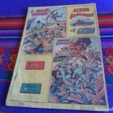 Tebeos: ÁLBUM SELECCIONES DE GUERRA TOMO I. EDITORIAL RICART AÑOS 50. 3 PTS. MUY RARO.. Lote 126987823