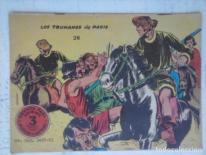FLECHA Y ARTURO ORIGINAL Nº 26 EDI. RICART 1965 MUY BUEN ESTADO (Tebeos y Comics - Ricart - Flecha y Arturo)