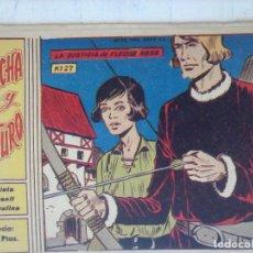 Tebeos: FLECHA Y ARTURO ORIGINAL Nº 27 EDI. RICART 1965. Lote 127878063