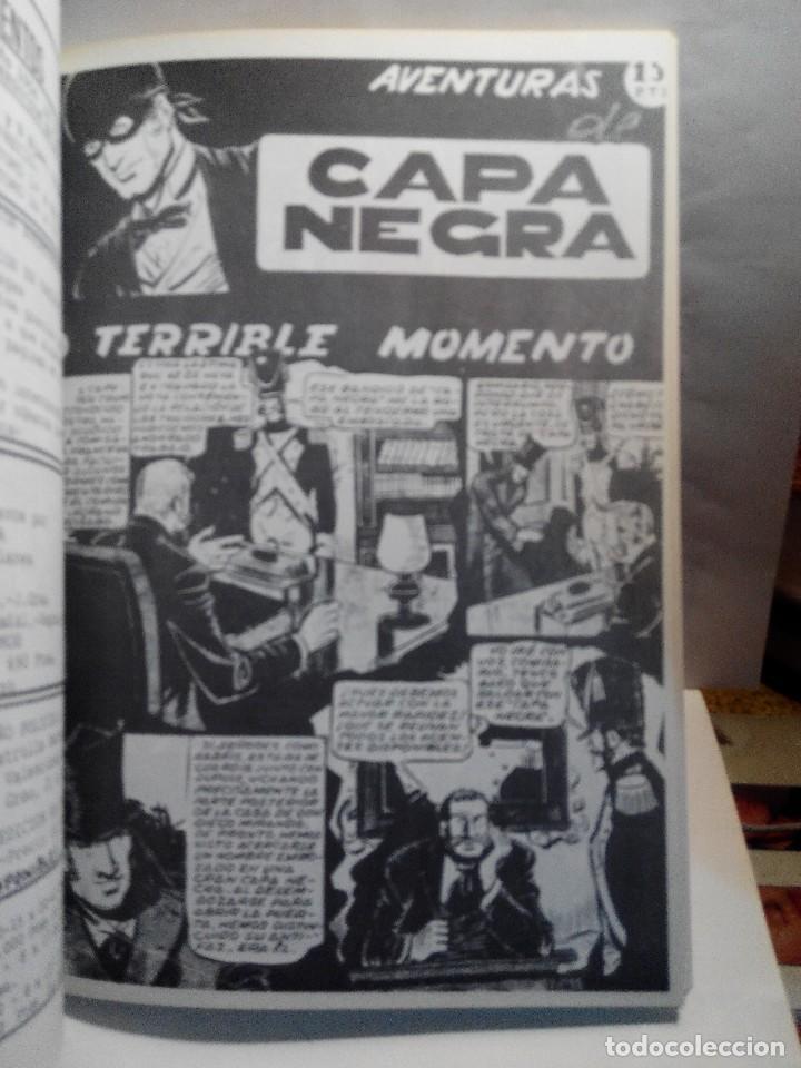 Tebeos: LOTE 2 TOMOS DE LAS AVENTURAS DE CAPA NEGRA - Foto 5 - 128048815