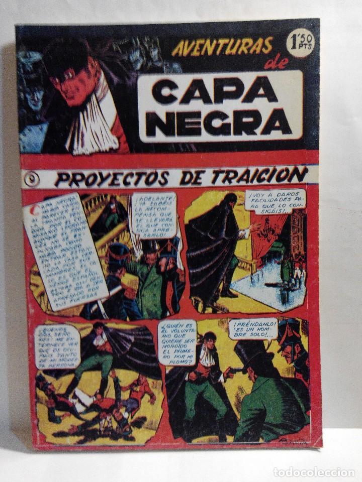 Tebeos: LOTE 2 TOMOS DE LAS AVENTURAS DE CAPA NEGRA - Foto 7 - 128048815
