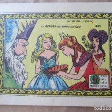 Tebeos: COLECCION ARDILLITA N. 345 , LA ESPOSA DE RAYO DE ORO , RICART , 1959. Lote 128146835