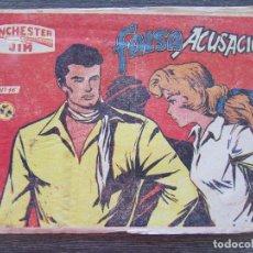 Tebeos: WINCHESTER JIM Nº 16 FALSA ACUSACIÓN. RICART 1965. Lote 128547191