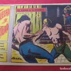 Tebeos: FLECHA Y ARTURO , NUMERO 9 , LA LUCHA DE LA MUERTE , RICART. Lote 130167911