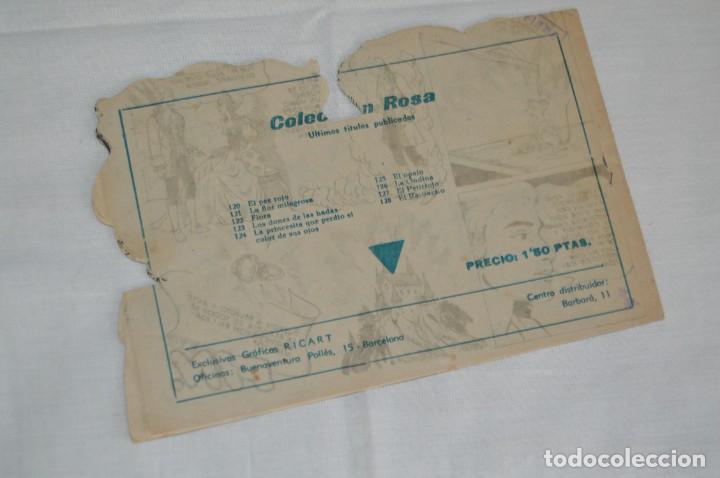 Tebeos: LOTE DE 4 CUENTOS TROQUELADOS - COLECCIÓN ROSA - GRAFICAS RICART - MUY ANTIGUOS - ENVÍO 24H - Foto 7 - 130615254
