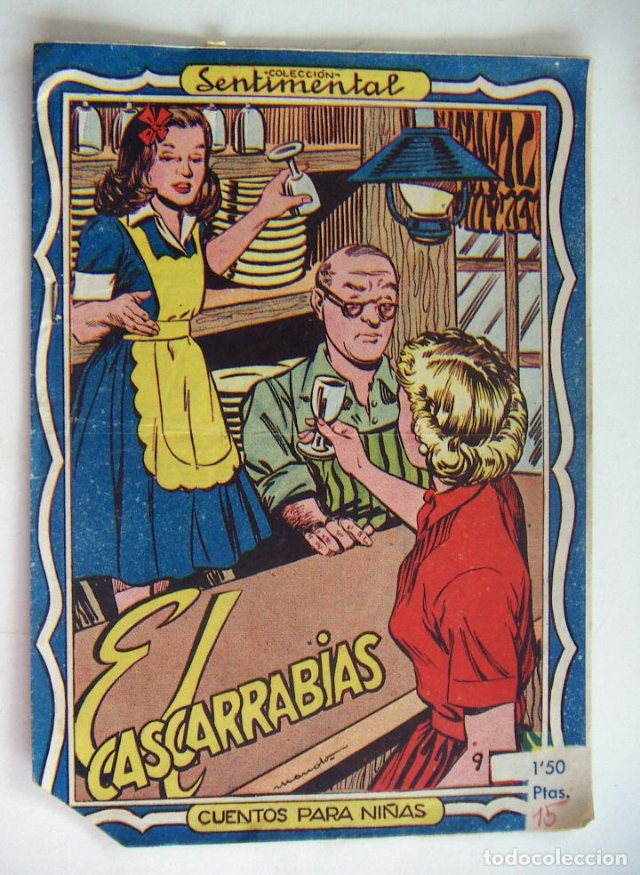 COLECCIÓN SENTIMENTAL RICART. CUENTOS PARA NIÑAS Nº 9 EL CASCARRABIAS (Tebeos y Comics - Ricart - Sentimental)