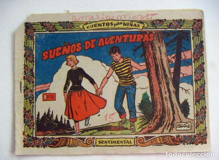 COLECCIÓN SENTIMENTAL RICART. CUENTOS PARA NIÑAS Nº 41 SUEÑOS DE AVENTURAS (Tebeos y Comics - Ricart - Sentimental)