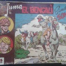 Tebeos: TEBEO / CÓMIC ORIGINAL JUMA EL BENGALÍ N 11 RICART 1954 MUY DIFÍCIL. Lote 131112444