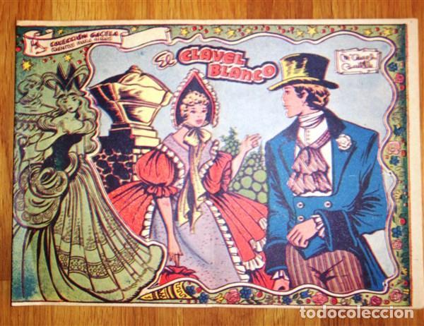 COLECCIÓN GACELA : CUENTOS PARA NIÑAS. Nº 71 : EL CLAVEL BLANCO (Tebeos y Comics - Ricart - Gacela)