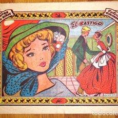 Tebeos: COLECCIÓN GOLONDRINA : REVISTA JUVENIL FEMENINA. Nº 146 : EL CASTIGO. Lote 131336646