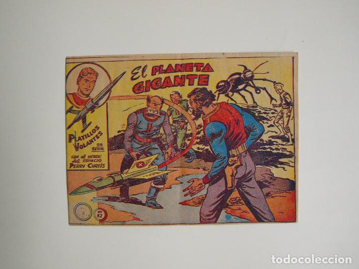 EL PLANETA GIGANTE - PLATILLOS VOLANTES Nº 12 - 2ª SERIE - CON EL HÉROE DEL ESPACIO PERRY CURTIS (Tebeos y Comics - Ricart - Otros)