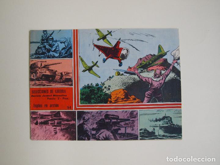SELECCIONES DE GUERRA Nº 54 - RICART 1963 (Tebeos y Comics - Ricart - Otros)