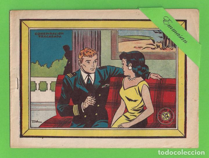 COLECCIÓN MODELO - Nº 41 - CONSPIRACIÓN FRACASADA - (1959) - GRÁFICAS RICART. (Tebeos y Comics - Ricart - Modelo)