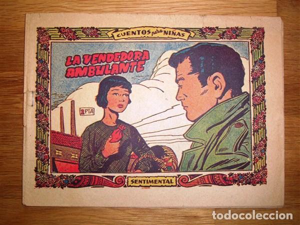 SENTIMENTAL : CUENTOS PARA NIÑAS. Nº 291 : LA VENDEDORA AMBULANTE (Tebeos y Comics - Ricart - Sentimental)