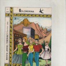 Tebeos: REVISTA JUVENIL FEMENINA-COLECCIÓN GOLONDRINA-B/N-AÑO 1972-RICART-FORMATO GRAPA-Nº 209-LA GITANILLA. Lote 132675386