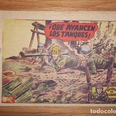 Tebeos: EPISODIOS DE COREA. Nº 58 : ¡QUE AVANCEN LOS TANQUES!. Lote 132684886