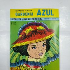 Tebeos: GARDENIA AZUL NUMERO EXTRA. Nº 376. RICART 1972. TDKC26. Lote 132727338