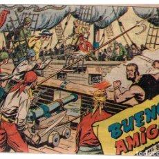 Tebeos: CORSARIO AUDAZ Nº-8 BUENOS AMIGOS. RICART 1963. Lote 132930486