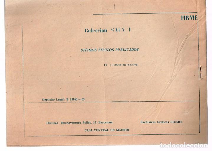 Tebeos: Safari. Nº-14 Justicia en la Selva . Ricart 1965 - Foto 2 - 132938110